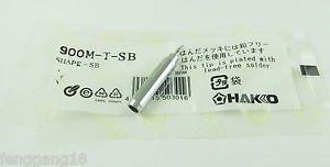 5x Replace Soldering Solder Leader-Free Solder Iron Tip For Hakko 936 900M-T-SB