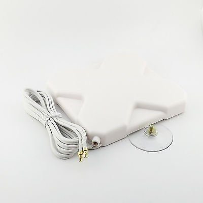 Booster Signal GPRS GSM 3G 4G LTE CRC9 Male 35dBi Antenna 2M Cable 791-2690MHz