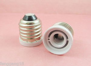 10x E27 to E12 Socket Base LED Halogen CFL Light Bulb Lamp Adapter Converter New