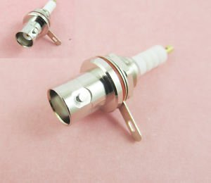 BNC Female Nut Bulkhead Solder Panel Mount Audio Speaker RF Connector MHV 3000V