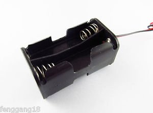 1pcs 6V Battery Holder Box Battery Box with 6'' Wire Lead 4* AA 4 x AA