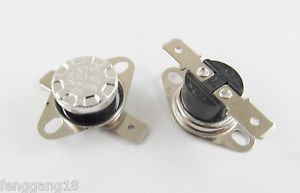 10pcs KSD301 Temperature Controlled Switch Thermostat 85°C N.O. Normal Open