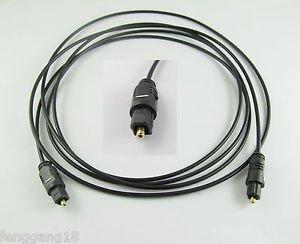 10pcs Digital Optical Fiber Optic Toslink Audio Cable OD 2.2mm 2M 6.5ft