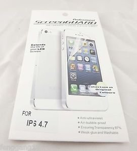 10pcs LCD Clear Front Screen Protector Gurad Skin Cover For Apple iPhone 6 4.7""