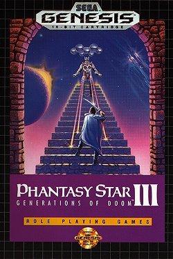 Phantasy Star III (3): Generations Of Doom