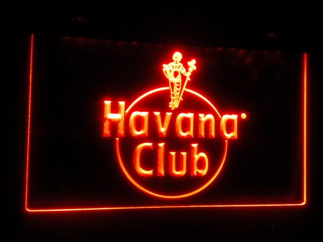 Havana Club Rum Room beer bar pub 3d signs neon sign for Game Room,Office,Bar,Man Cave, Decor NEW
