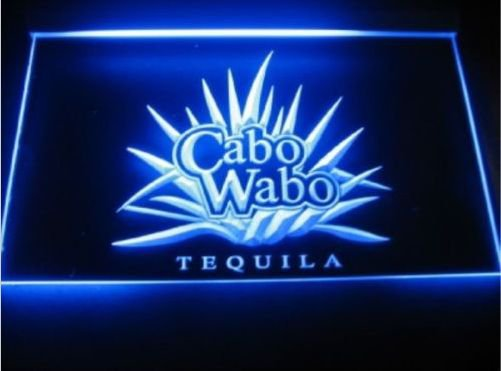 Cabo Wabo Tequila Logo Beer Bar Pub Store 3d signs for Game Room,Office,Bar,Man Cave, Decor NEW