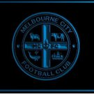 Melbourne City FC football club LOGO Bar Club Neon Light Sign Rare