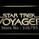 Star Trek Voyager logo Beer Bar Pub Light Sign Neon