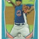 2014 Duane Underwood Bowman Blue Parallel 158/500 Chicago Cubs
