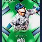2016 Javier Baez Topps BUNT World Series Green Fire Digital Card Chicago Cubs