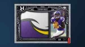 Topps Huddle Stefon Diggs Museum Collection Jumbo Relics Digltal Card Vikings