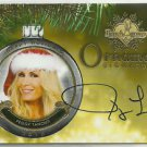 2015 Peggy Tanous Benchwarmer Holiday Past & Presents Ornament Signature Auto