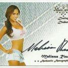 2015 Melissa Riso Benchwarmer Daizy Dukez Auto Signature Autograph