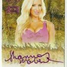 2015 Shannon Malone Benchwarmer Daizy Dukez Purple Haystack Auto Sig Autograph