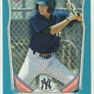 2014 Tyler Wade Bowman Prospects Blue 488/500 New York Yankees