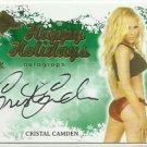 2015 Cristal Camden Benchwarmer Holiday Past & Presents 2012 Happy Holidays Auto