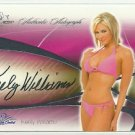 2008 Keely Williams Benchwarmer Signature Series Autograph Signature Auto
