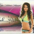 2008 Catherine Kluthe Benchwarmer Signature Series Autograph Signature Auto