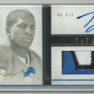2011 Titus Young Playbook Rookie Gold Booklet Auto 3-Color Patch 31/49 Lions