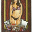 2016 Raquel Pomplun Benchwarmer National Sports Collectors Convention Promo Card