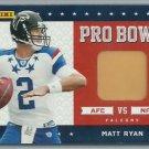 2011 Matt Ryan Panini Black Friday Pro Bowl Pylon Relic Atlanta Falcons