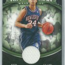 2008-09 Devin Harris Topps Treasury Jersey Relic Card New Jersey Nets