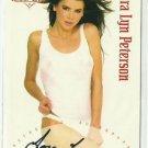 2003 Lora Lyn Peterson Benchwarmer Gold Edition Autograph Signature Auto