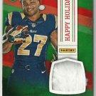 2014 Tre Mason Panini Black Friday Happy Holidays Player-Worn Santa Hat LA Rams