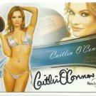 2013 Caitlin O'Connor Benchwarmer Bubble Gum Autograph Auto Signature