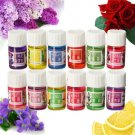 12pcs Flower Essential Oil Set Spa Aromatherapy Pure Therapeutic Plant Headache Relief Home
