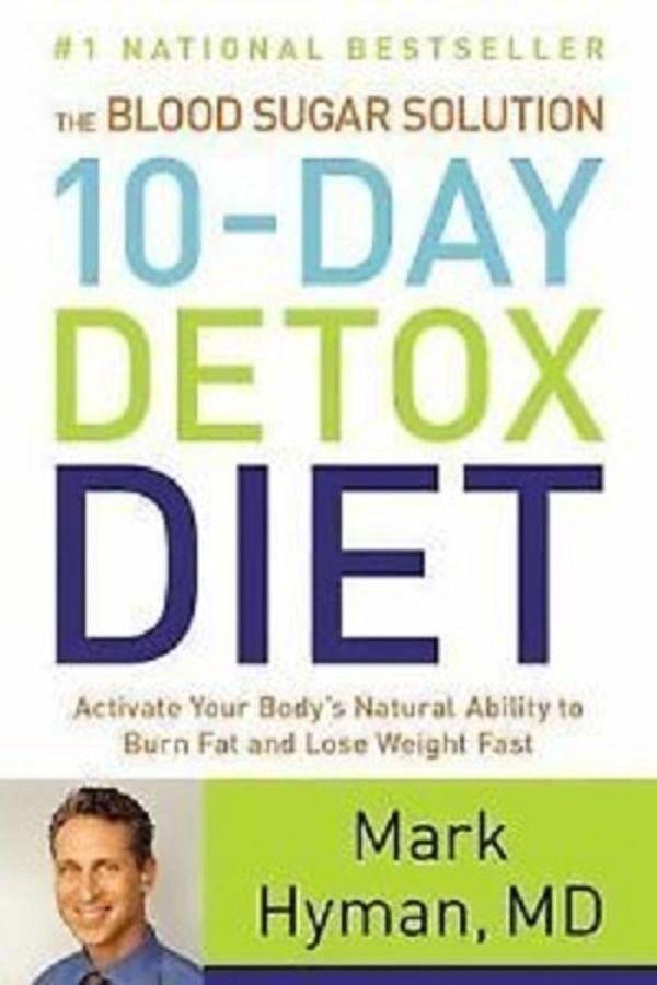 Mark Hyman -The Blood Sugar Solution 10 day detox diet (ebook kindle - PDF )