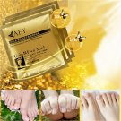 AFY Gold Foot Mask Exfoliating Whitening Nourish Sterilization Revitalizing Feet Care