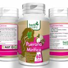 PUERARIA MIRIFICA 3000mg BUST FIRMING BREAST ENLARGEMENT CAPSULES