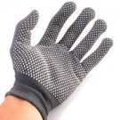 2 Pairs Grey Heat Resistant Finger Glove Hair Straightener Perm Curling Hairdressing Hand Protector
