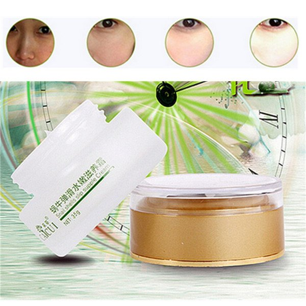 CAICUI Snail Face Cream Anti-aging Wrinkle Moisturizing Whitening Skin Care