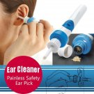 I- ears Painless Cordless Electric Ear Pick Wax Vacuum Remover with Retail Box