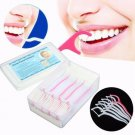 30pcs Interdental Dental Floss Toothpicks Stick Tooth Clean Flosser Brush Tooth Picks