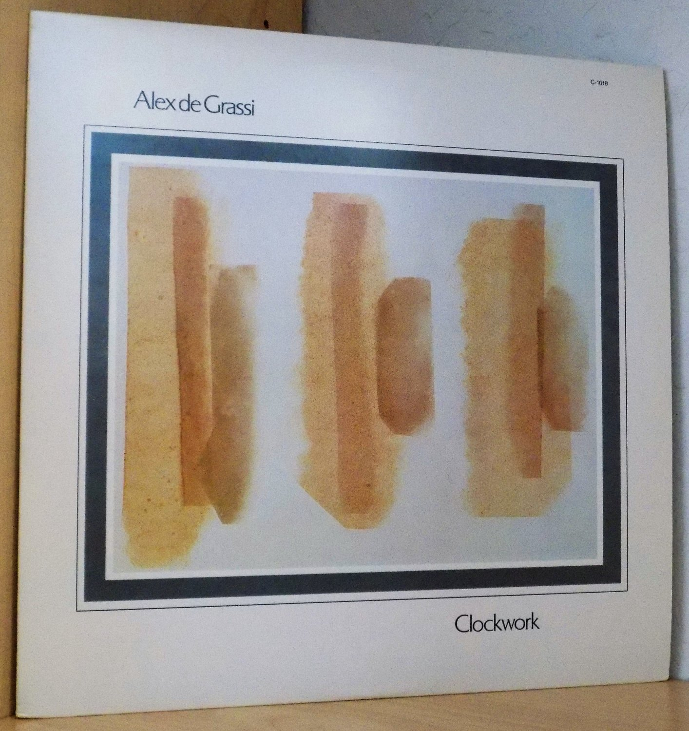 "Alex De Grassi ""Clockwork"" Windham Hill Records Vinyl Album WHS C-1018 (1981)"