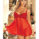 Classic Lace Babydoll (size M, XL,XXL are available)