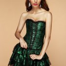 Emerald Lace Corset Dress