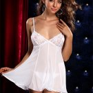 Chopper Bar Lace and Net Mesh Babydoll