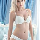 Solid Color Glossy Seamless Bra Gather Deep V Sexy Bra Sets For Women