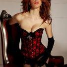 Lace & Bows Burlesque Corset