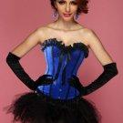 Blue Crush Corset Bustier & Pettiskirt