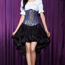 Fashionable Jacquard Lace-Up Waist Training Corset