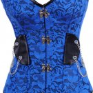 Retro Buckle Steampunk Corset