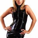 Metallic Sleeveless Clubwear Mini Dress