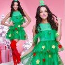 Green Tulle Mini Christmas's Costume