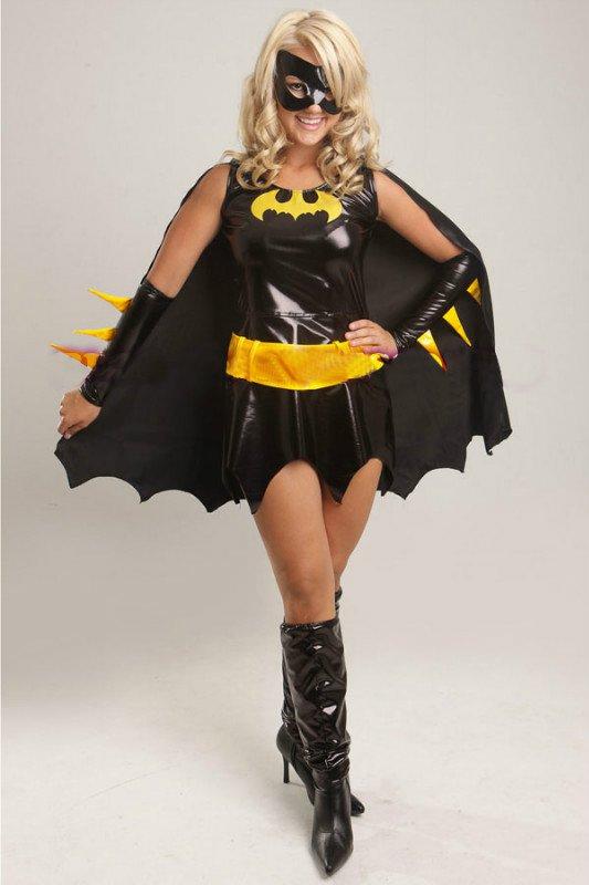 Batgirl Style Dress Costume